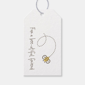 Honey Bee Gift Tags Pack Of Gift Tags