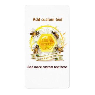 Honey Bee Honey Seller Beekeeper Apiarist Shipping Label