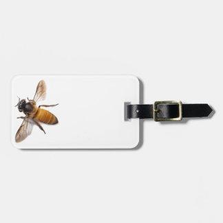 Honey Bee Luggage Tag