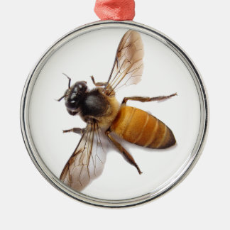 Honey Bee Metal Ornament