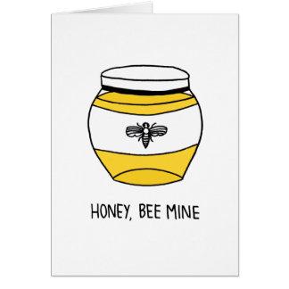 Honey, Bee Mine Card