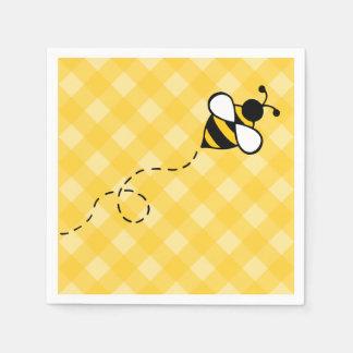Honey Bee Napkins Disposable Napkins