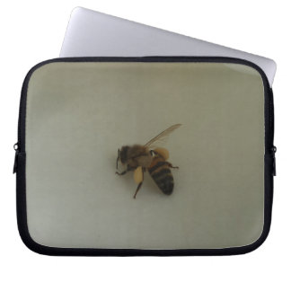 Honey Bee Neoprene Laptop Sleeve 10 inch