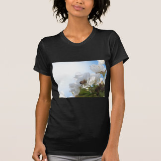 Honey Bee on Cherry Blossoms T-Shirt