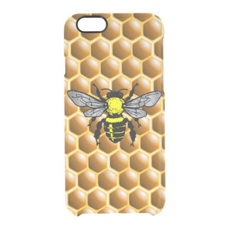 Honey Bee on Honeycomb Beekeeper Case