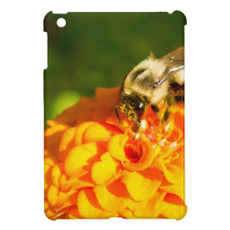 Honey Bee  Orange Yellow Flower With Pollen Sacs iPad Mini Cover