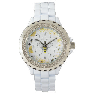 Honey Bee Personalized Watch