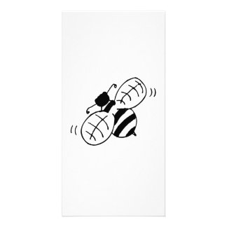 Honey Bee Picture Card