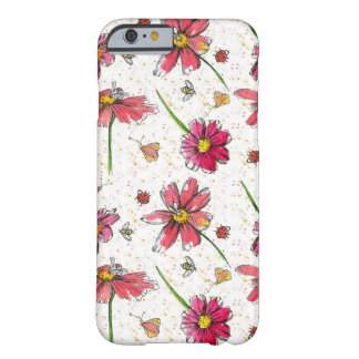 Honey Bee Pink Daisy Barely There iPhone 6 Case