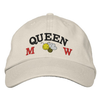 Honey Bee - Queen Bee - Save the Bee Embroidered Hat