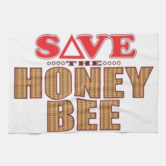 Honey Bee Save Kitchen Towel