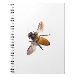 Honey Bee Spiral Notebook