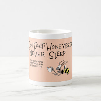 Honey Bee that never sleeps Coffee Mug