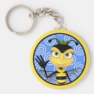 Honey Bee Toon Keychain