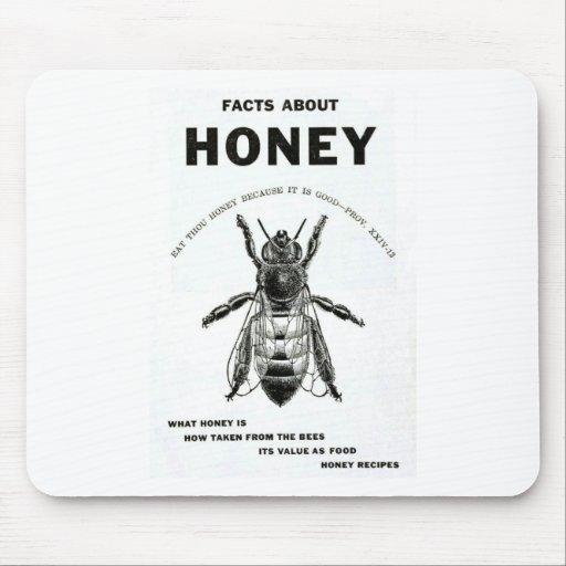 Honey Bee Vintage Advertising Mousepads