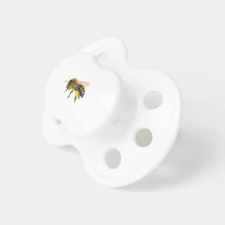 Honey Bee Watercolour Painting Artwork Print Pacifier