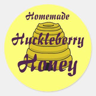 Honey Beehive Homemade Honey Canning label
