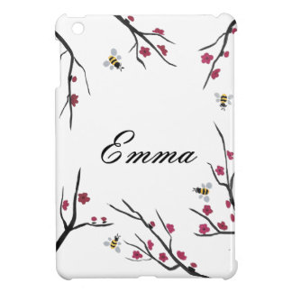 Honey Bees and Cherry Blossoms Case For The iPad Mini