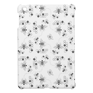 Honey Bees and Clover Custom Mini iPad Case