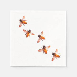 Honey Bees Disposable Napkins