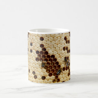 Honey Bees On Honey Comb Coffee Mug