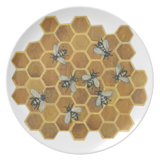 Honey Bees Plate