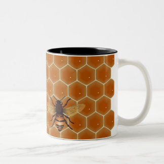 Honey Bees Two-Tone Coffee Mug