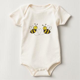 Honey Bees with Heart Creeper
