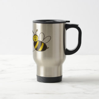 Honey Bees with Heart Mugs