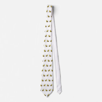 Honey Bees with Heart Tie