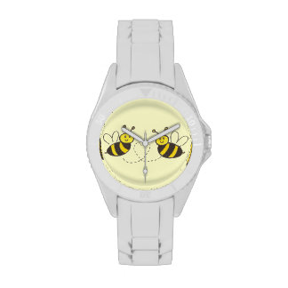 Honey Bees with Heart Watches