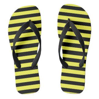 Honey Black Flip Flops