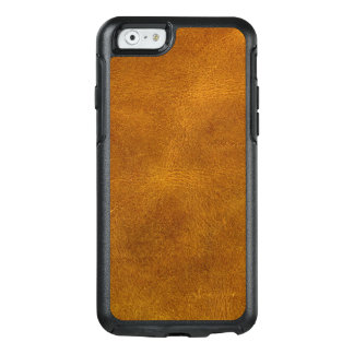 Honey Buckskin Leather Fine Grain Amber Mustard OtterBox iPhone 6/6s Case