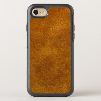 Honey Buckskin Leather Fine Grain Amber Mustard OtterBox Symmetry iPhone 7 Case