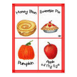 Honey Bun Inspirational Postcard