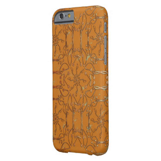 Honey coloured barely there iPhone 6 case