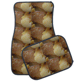 Honey comb car mat