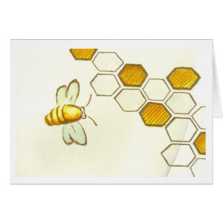 Honey Comb Greeting Card