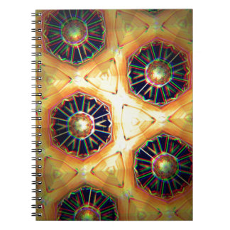 Honey comb style computer graphic notebook