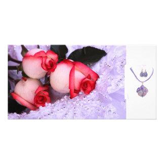 honey dear customized photo card