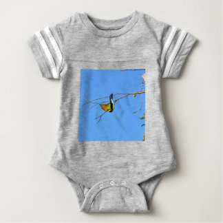 HONEY EATER RURAL QUEENSLAND AUSTRALIA BABY BODYSUIT