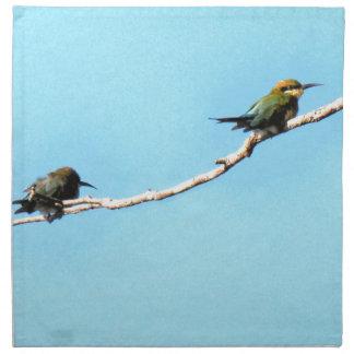 HONEY ETAER BIRD QUEENSLAND AUSTRALIA NAPKIN