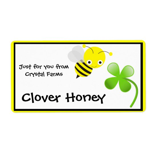 Honey Food Labels