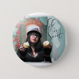 "Honey Halliwell ""Life is Sweet"" Items 2 Inch Round Button"