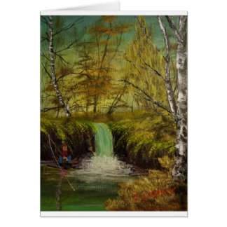 Honey Hole by Jack Lepper Greeting Card