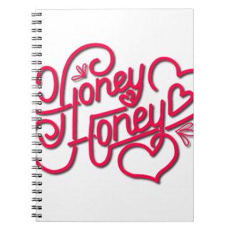 HONEY HONEY CALLIGRAPHY NOTEBOOK