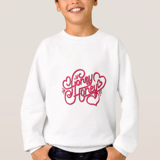 HONEY HONEY CALLIGRAPHY SWEATSHIRT