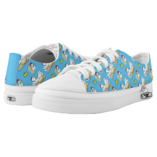 Honey  I'm Home Chickens Low-Top Sneakers