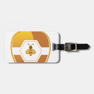 Honey Jar Bag Tag