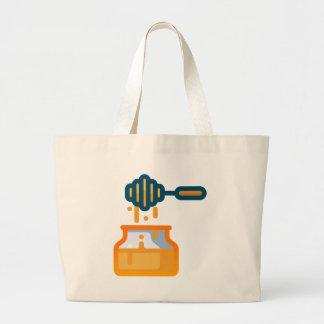 Honey Jar Large Tote Bag